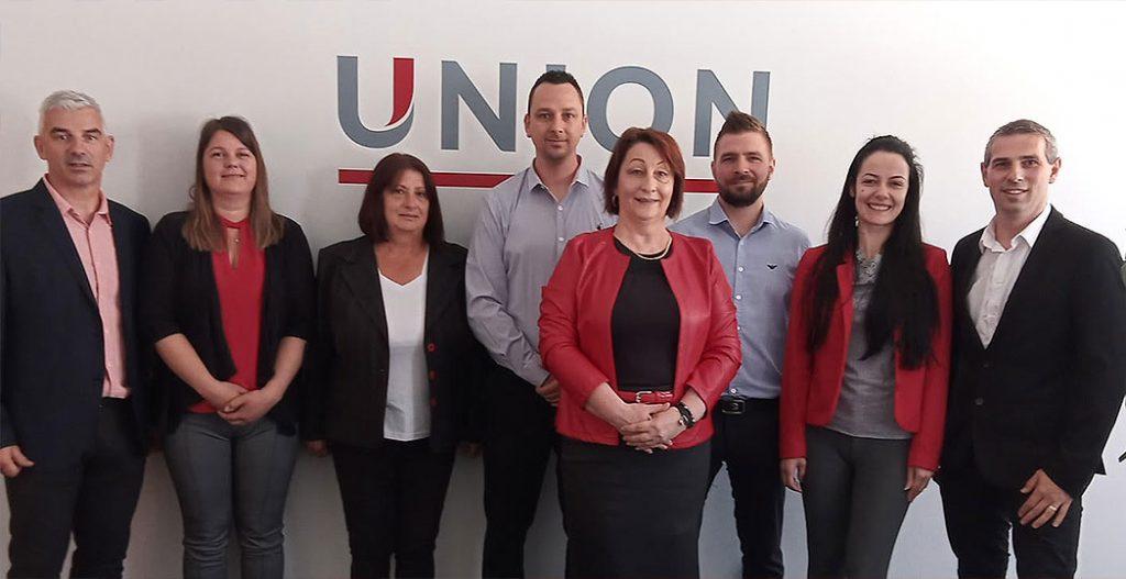Union csoportkép